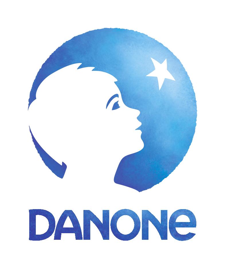 Logo for Danone Canada