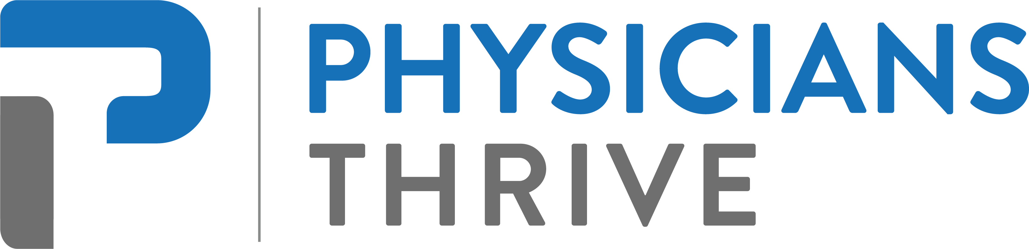 Logo for Physicians Thrive