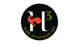 Logo for Hair,Head & Heart