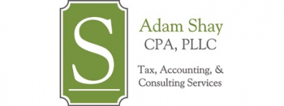 Logo for Adam Shay CPA, PLLC