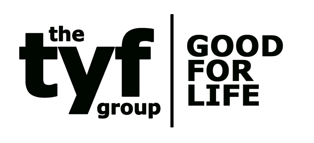 Logo for The TYF Group