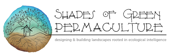 Logo for Shades of Green Permaculture