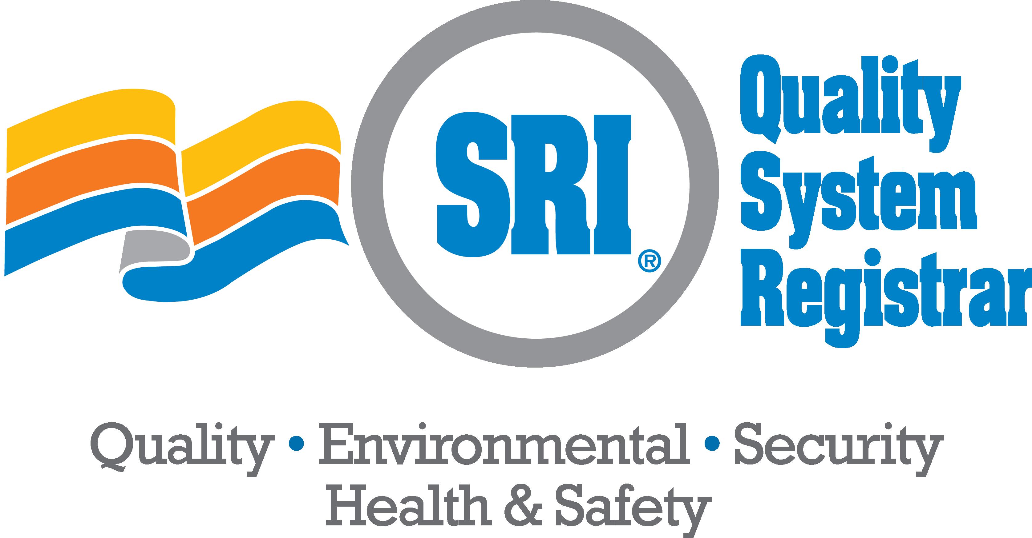 Logo for SRI Quality System Registrar