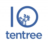 Logo for tentree international
