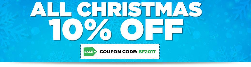 10% OFF Christmas