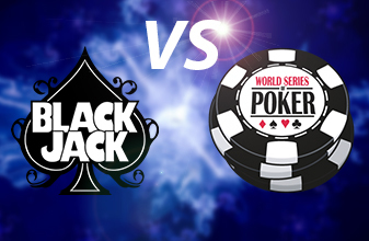 Blackjack players should consider playing poker