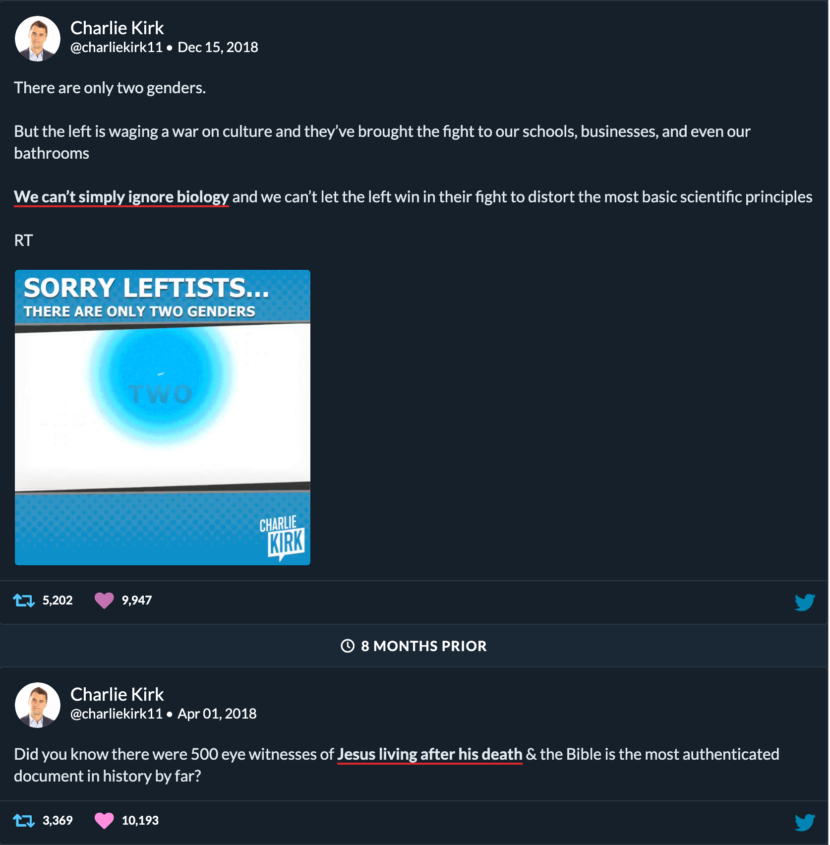 Doublethink by Charlie Kirk