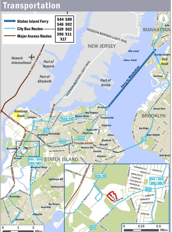 Brownfield Listings   Teleport Drive, Staten Island, NY 10314
