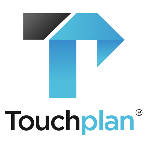 Touchplan logo squaretransparent