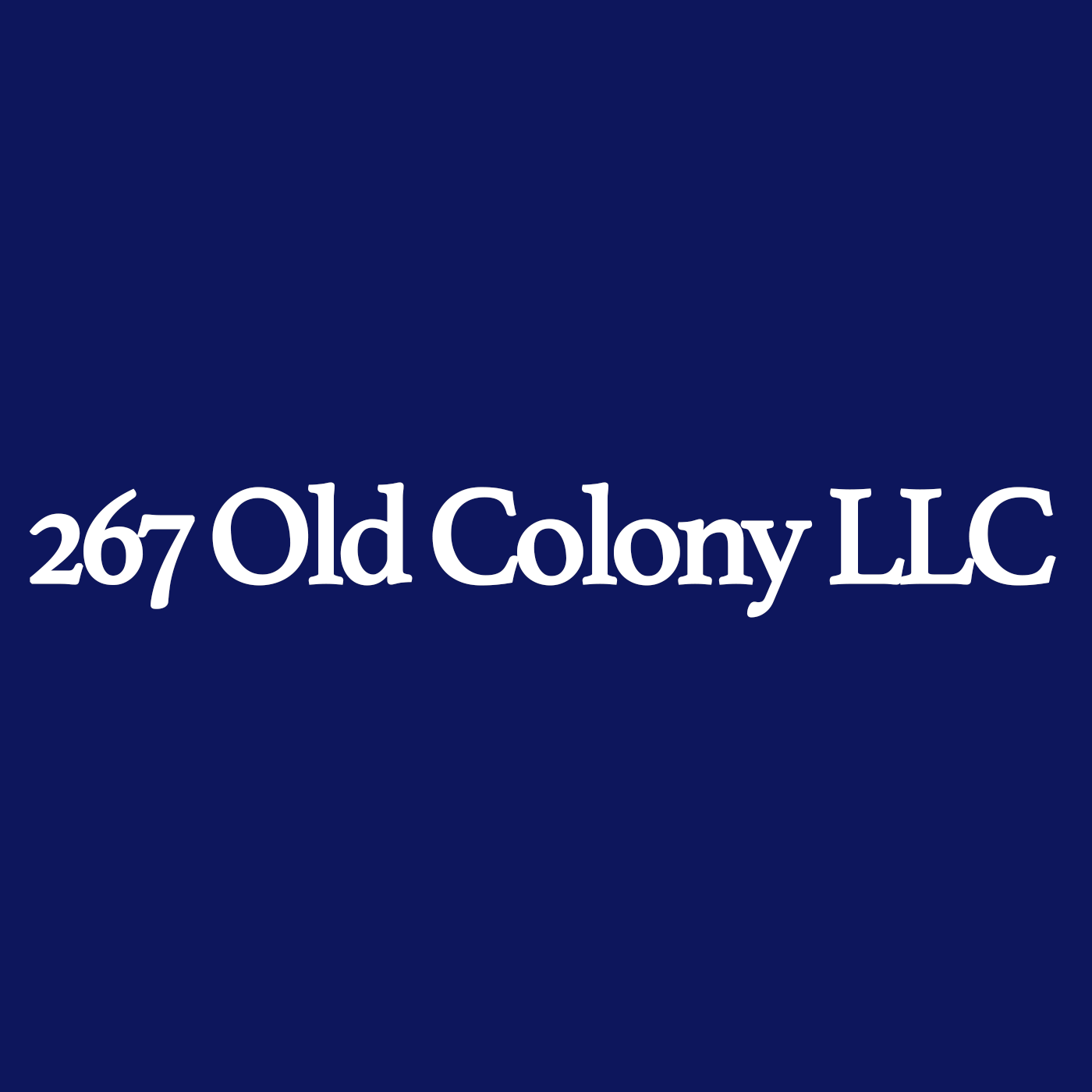 267 old colony llc