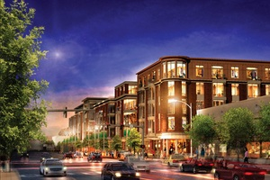 Washington place newtonville newton mixed use residential retail development mark investment