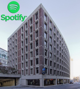 Spotify center plaza