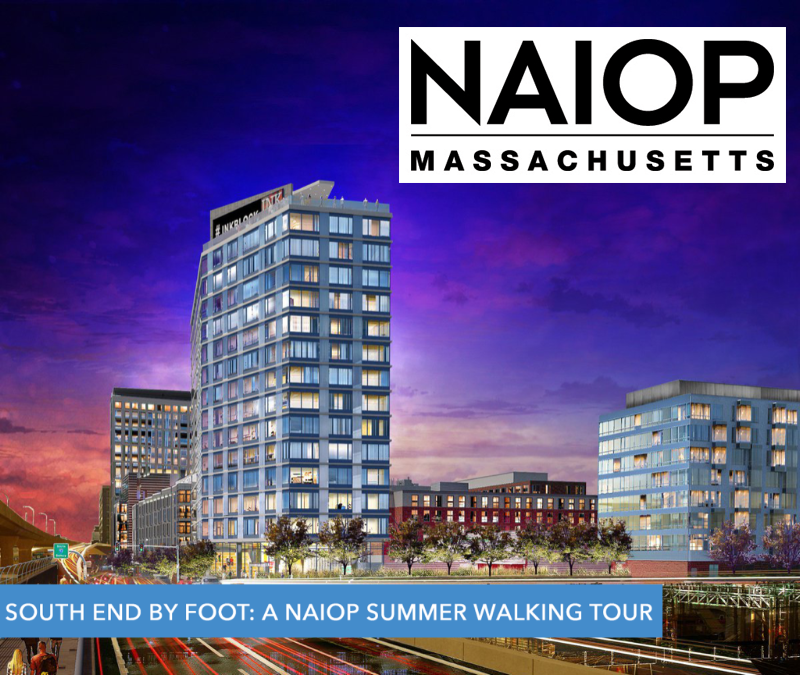 Naiop south end by foot summer walking tour