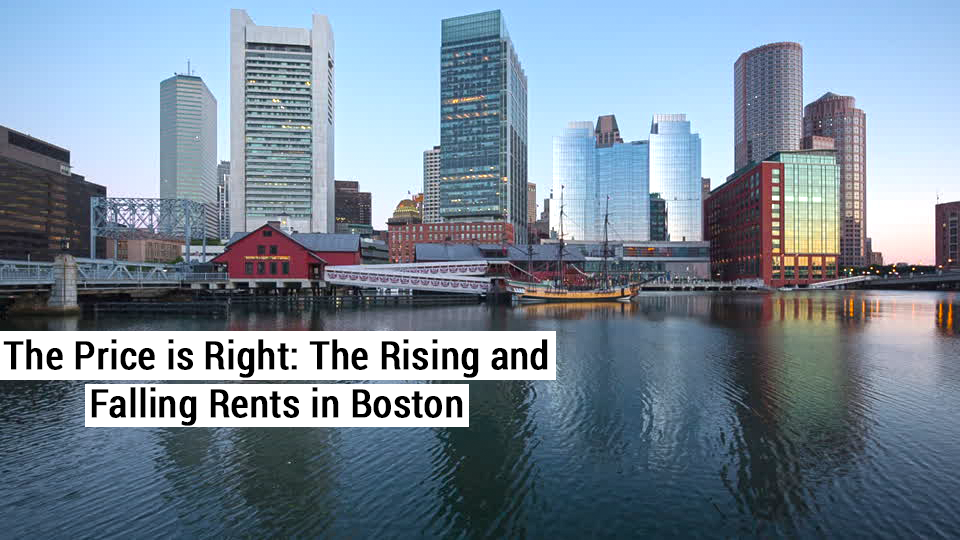 The price is right the rising and falling rents in boston