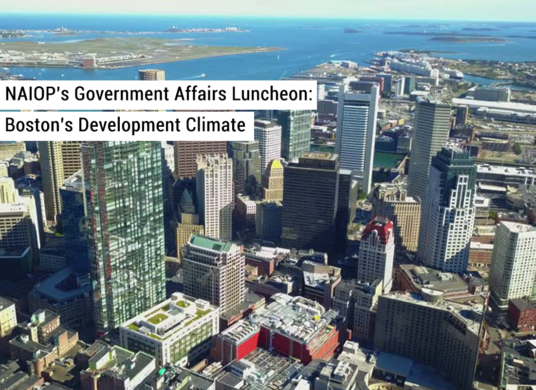 Naiop's government affairs luncheon