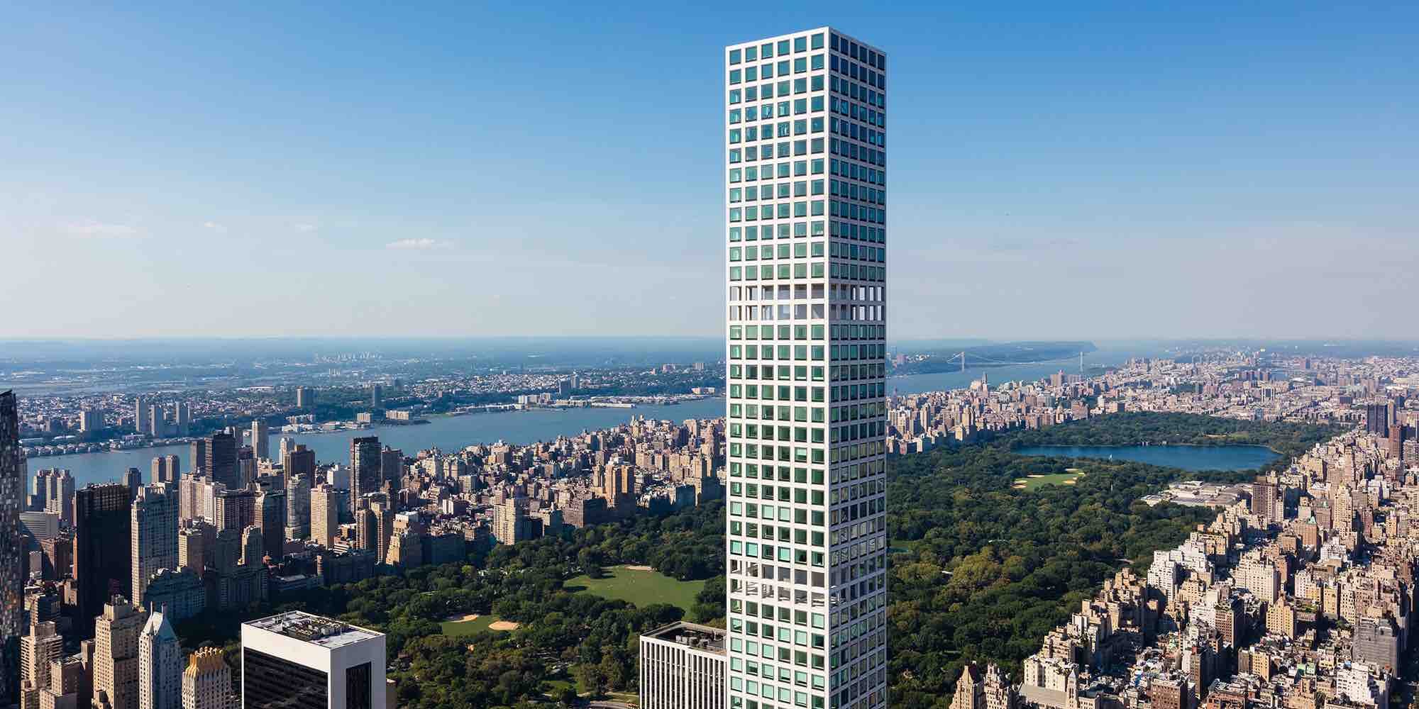 432 park avenue supertall tower residential luxury condominium cim group macklowe properties rafael vinoly architects slce architects