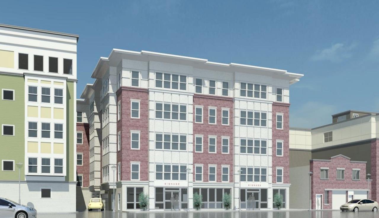 45 L Street Mixed Use Development South Boston Southie Residences Retail  Peter Leoutsakos Sutphin Architect ...