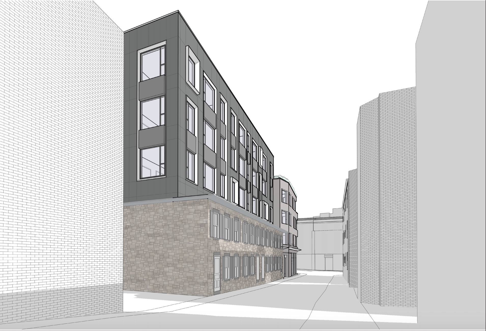 1470 tremont street savage properties residential retail mixed use development mission hill roxbury mbta orange line architect hacin associates rendering 1