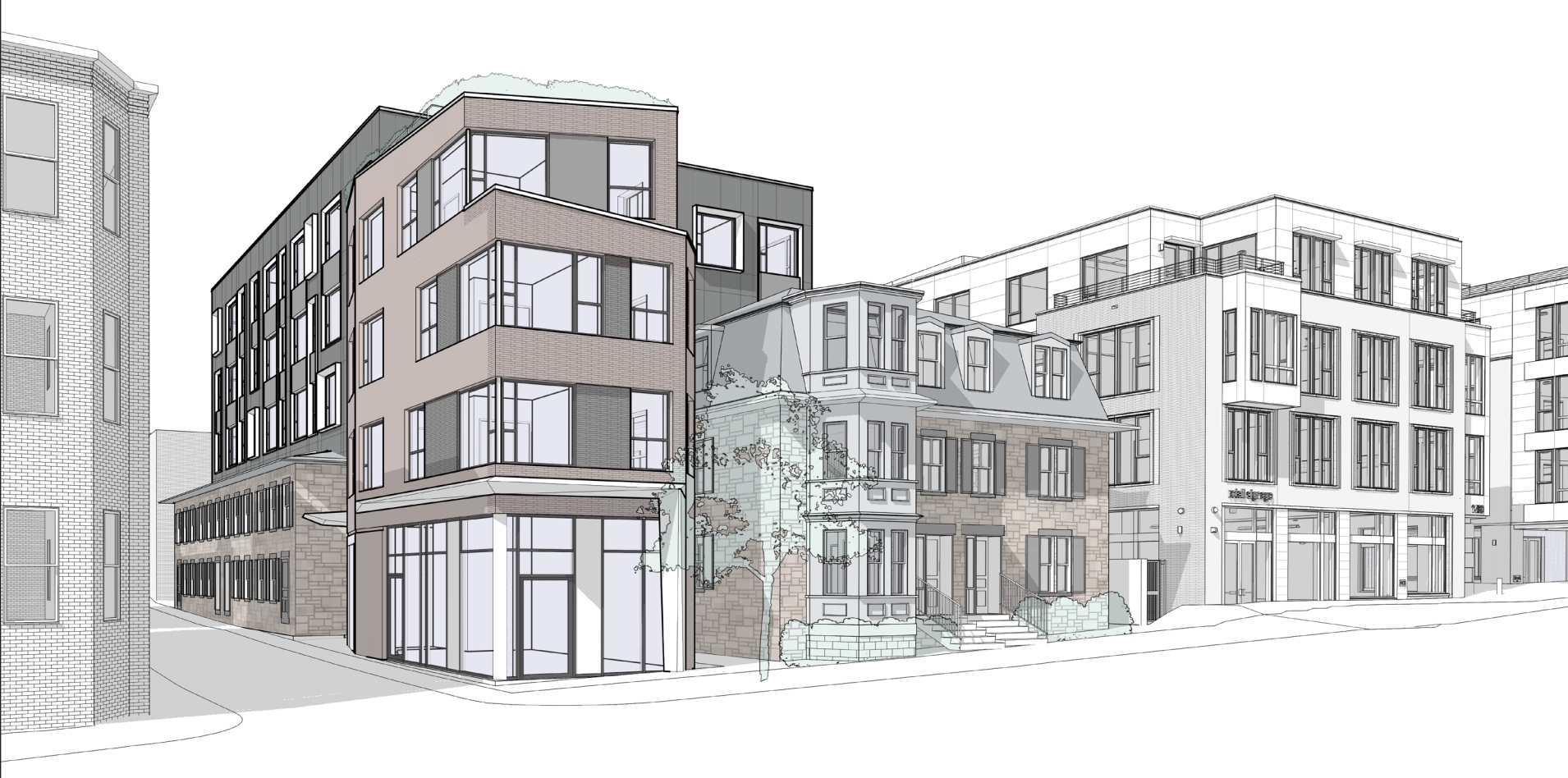 1470 tremont street savage properties residential retail mixed use development mission hill roxbury mbta orange line architect hacin associates rendering 2