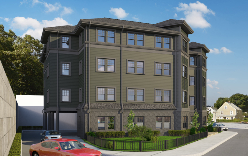 The residences at roslindale village square crossing 14 18 robert street city point capital condominium development
