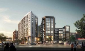 14 west broadway south boston southie real estate development residential condominium project city point capital rode architects rendering