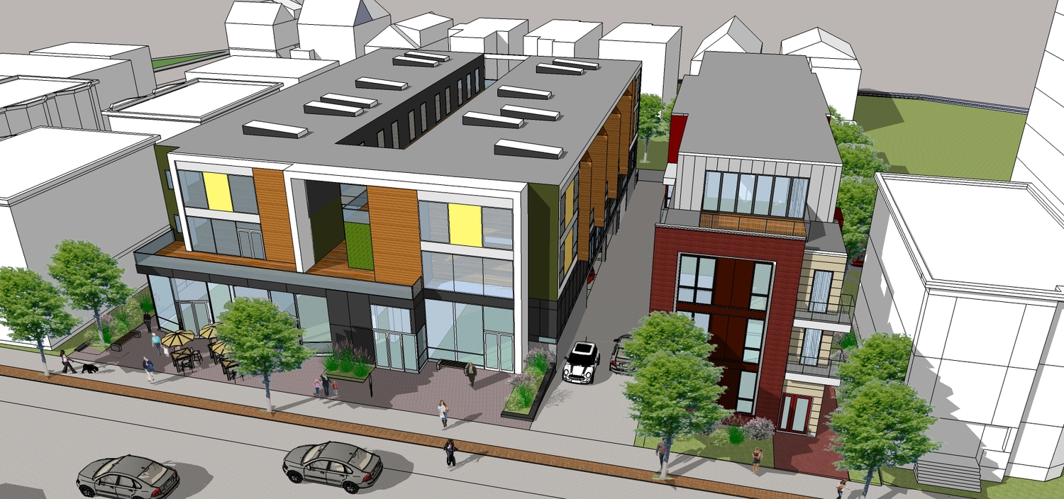 260 beacon street somerville porter square residential retail highland development project peter quinn architects