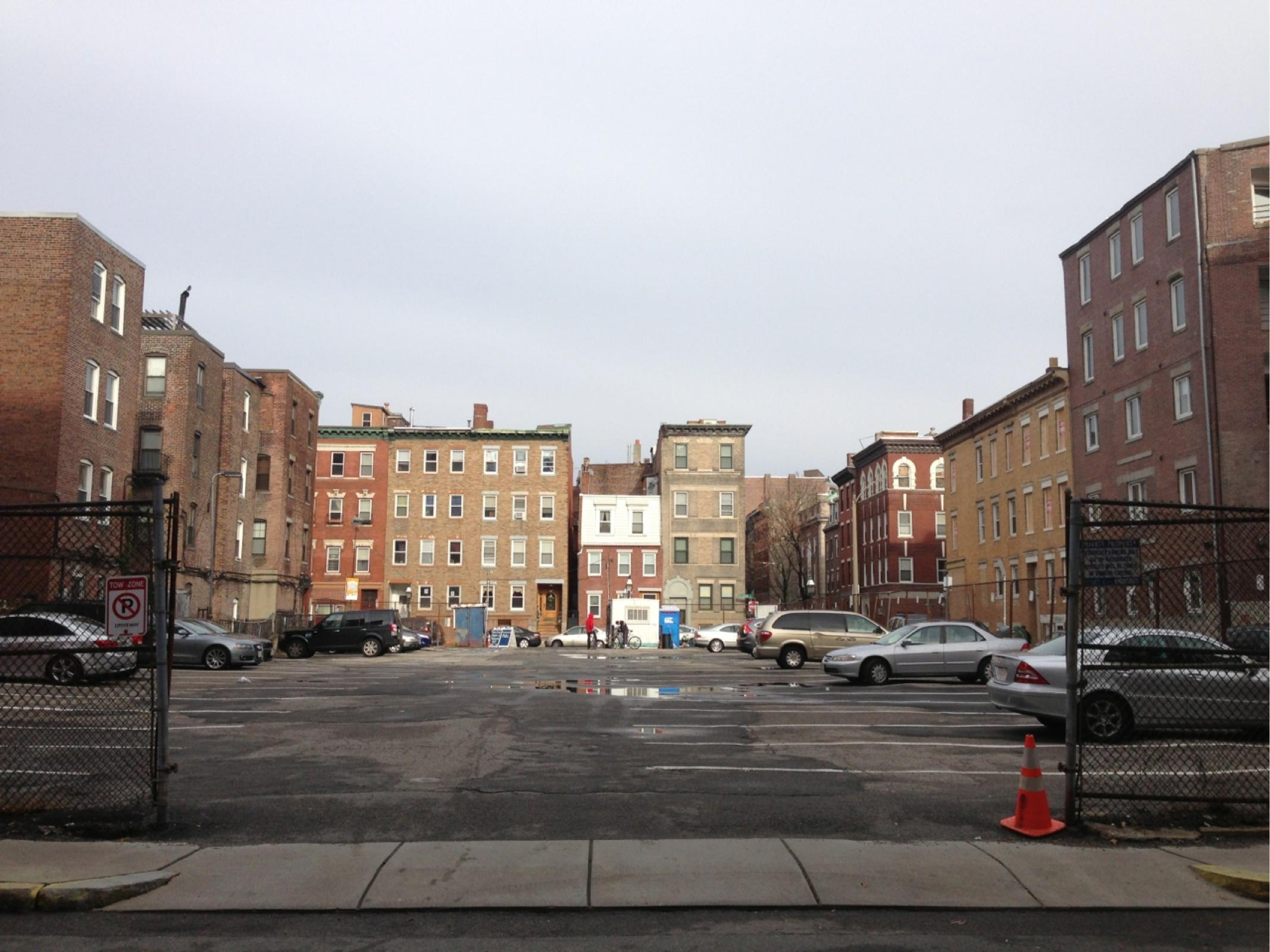 34 cooper street north end boston rafi properties surface vacant parking lot real estate development site