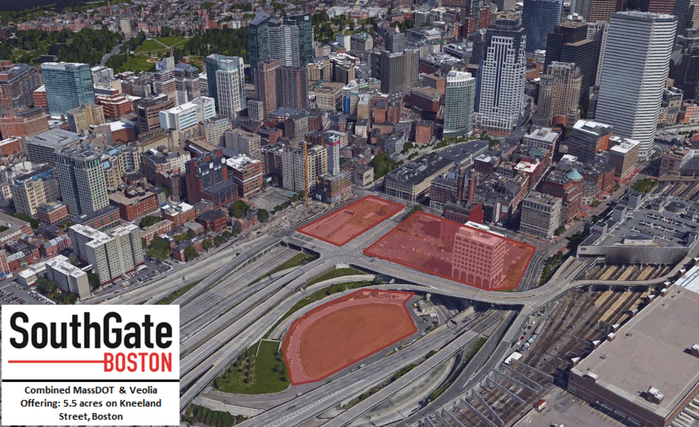 Bldup - No bidders for SouthGate Boston, 7 5 acres of state