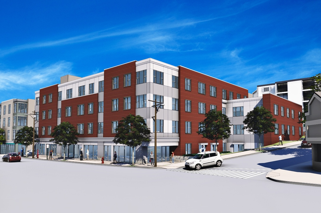Union square apartments 181 washington street affordable development somerville the somerville community corporation dimella shaffer architects dellbrook jks construction