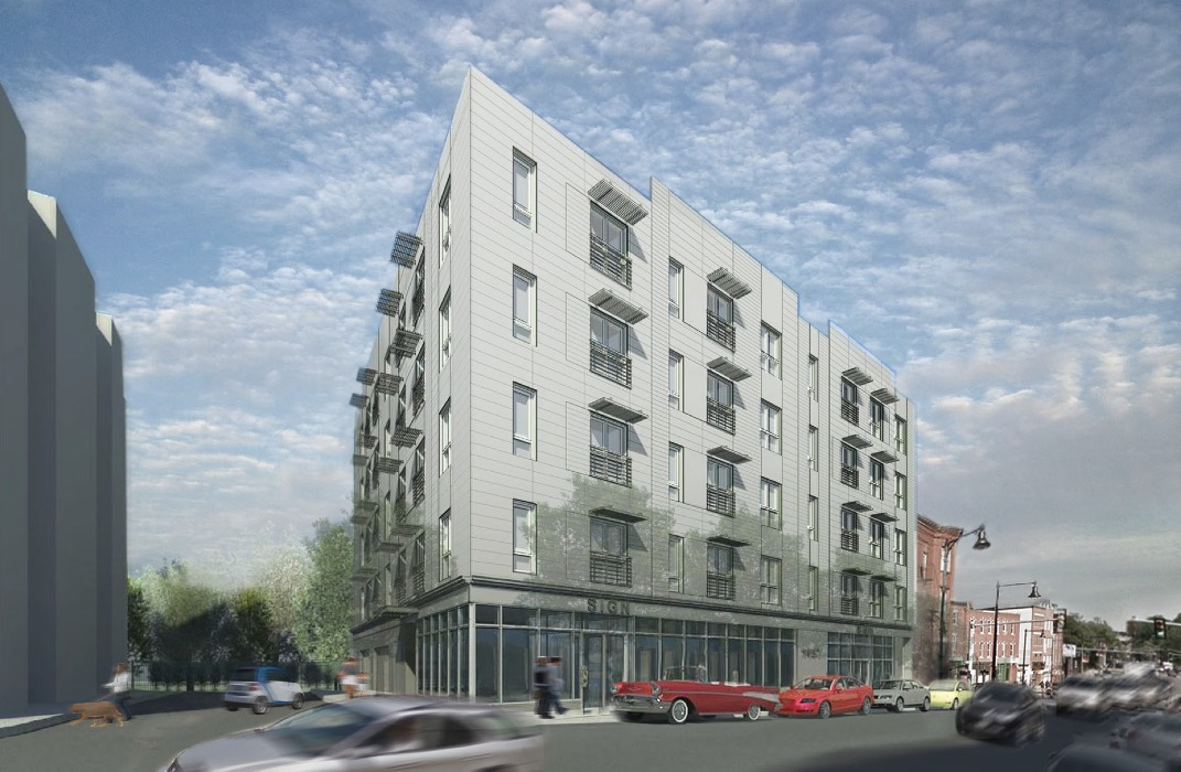 Mission hill flats proposed development 1457 tremont street boston green realty