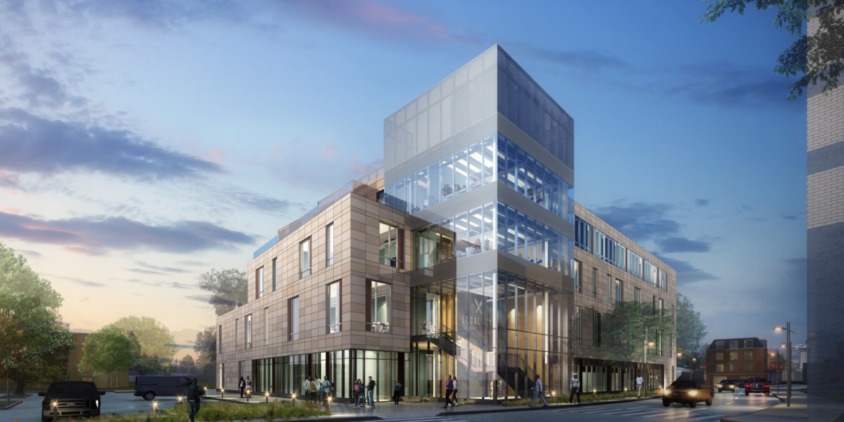 Pipefitters association local 537 new training and office facility proposed office educational training space development 40 enterprise street dorchester boston sga design building