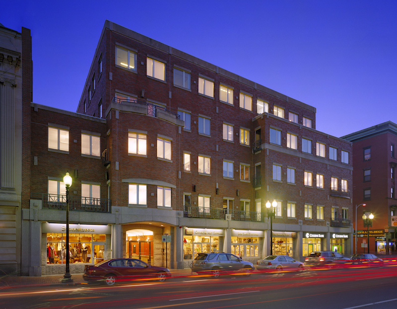 1280 massachusetts avenue harvard square cambridge office retail building intercontinental real estate corporation