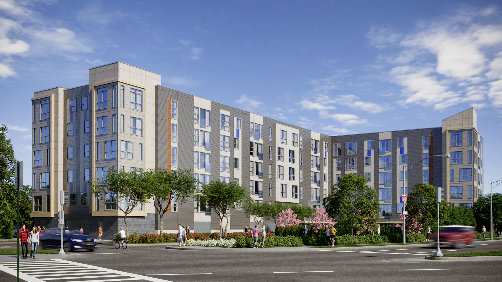 One beachmont 205 revere beach parkway apartments gate residential development callahan construction managers