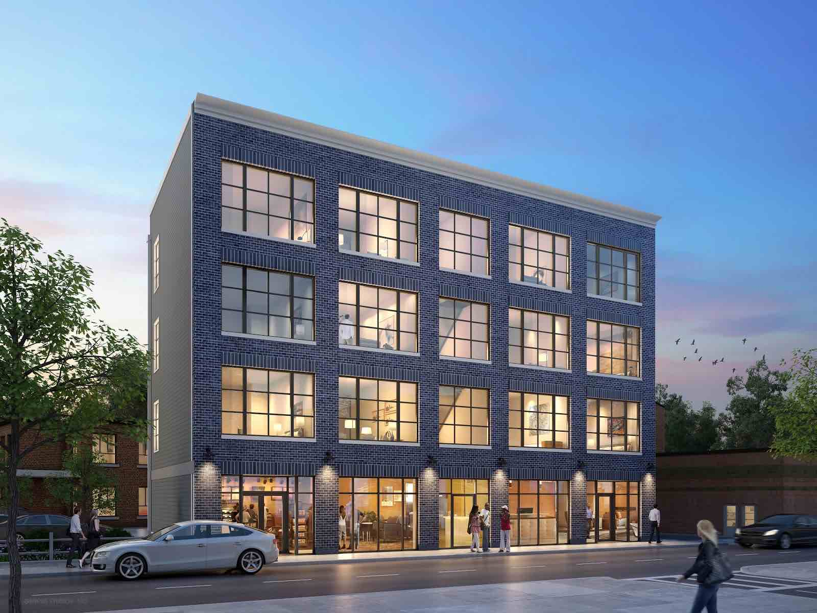 7 burroughs street residential condominium retail development jamaica plain boston