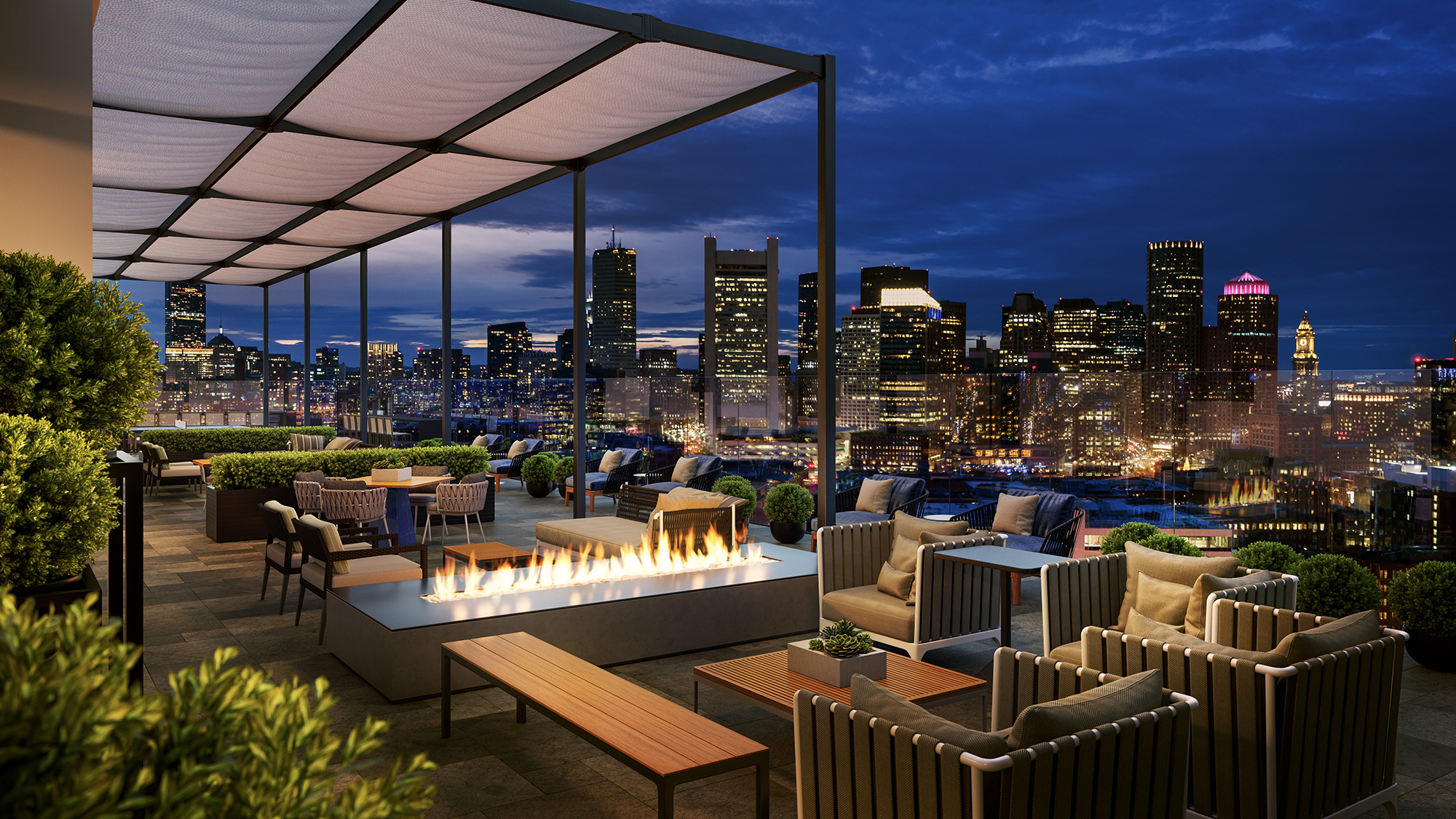Nema boston   skyline terrace