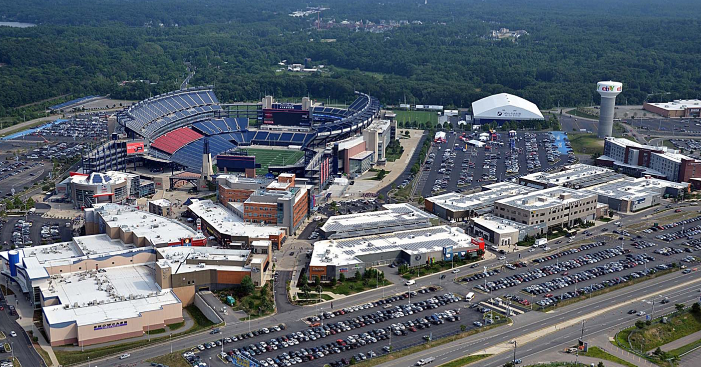 Patriot place foxboro ma