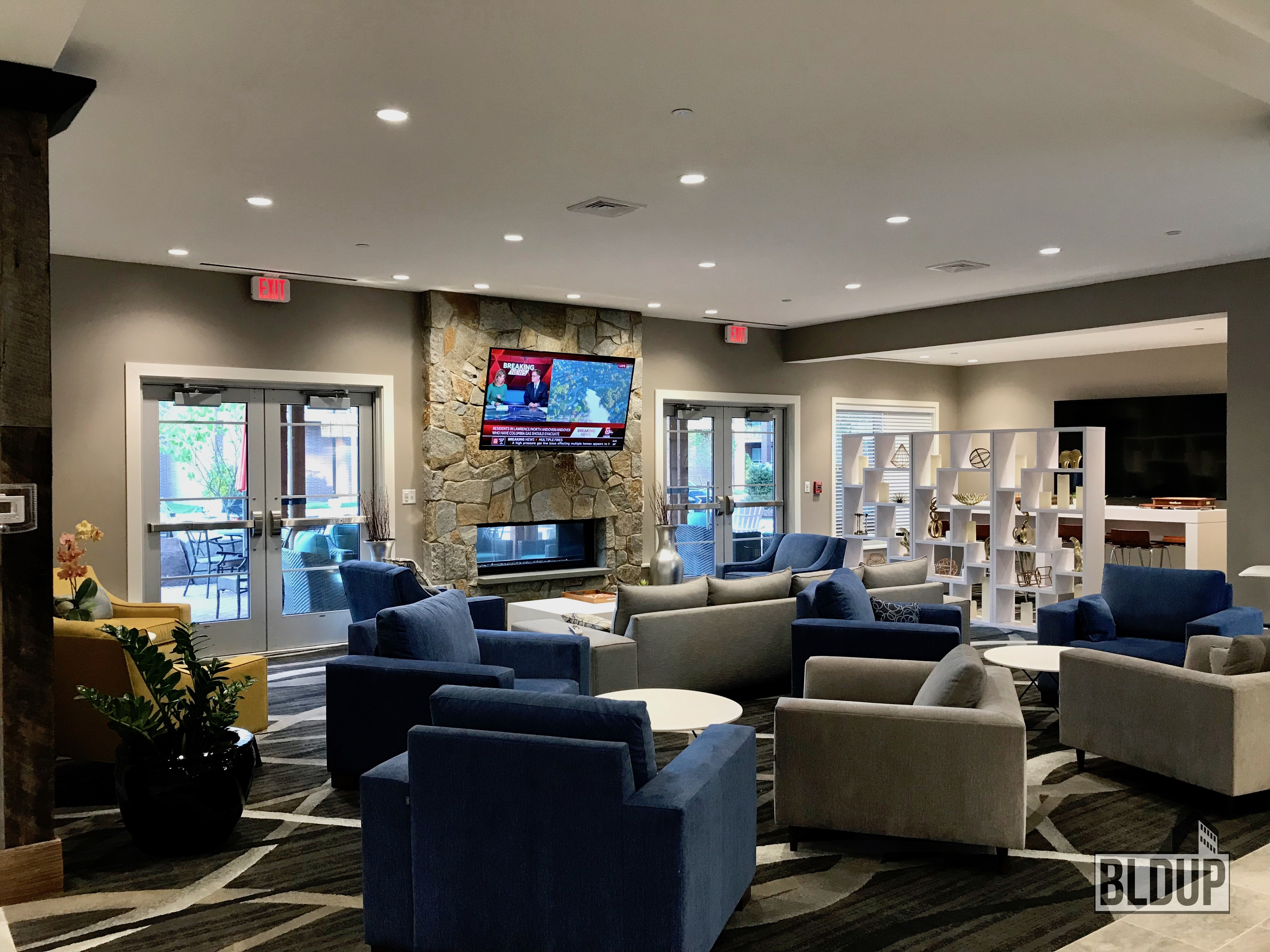 Elevation clubhouse interior