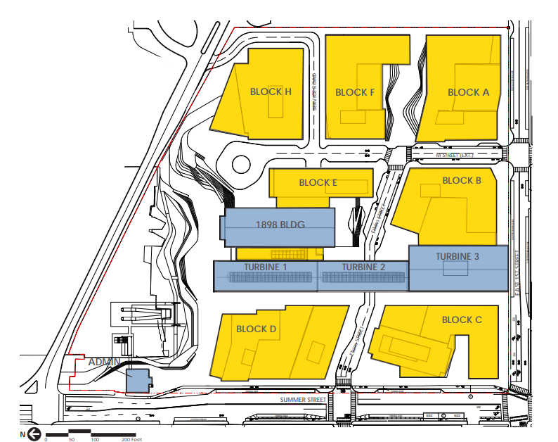 Power Plant Site plan