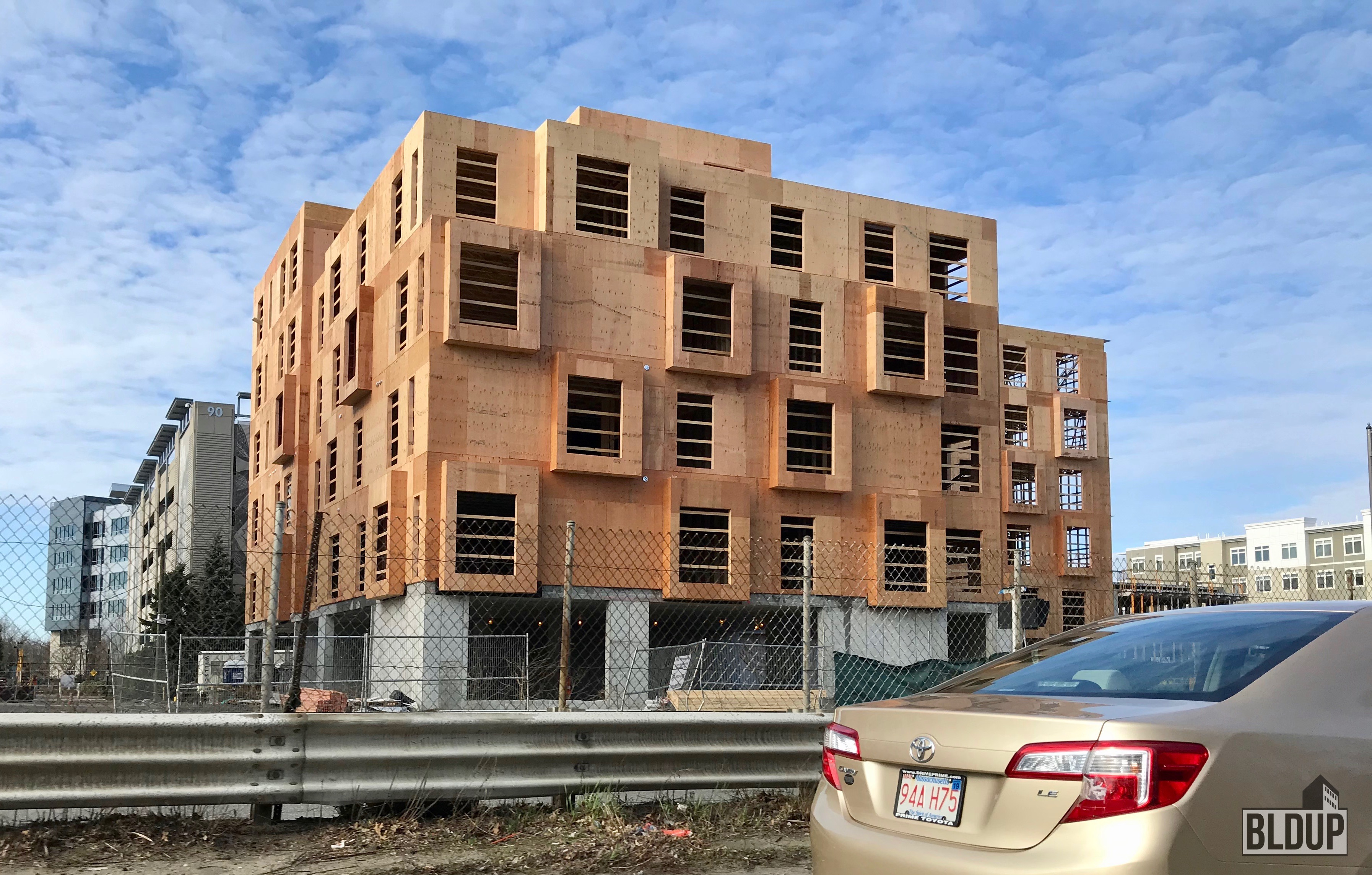 Residences at Alewife Station Cambridge April 2