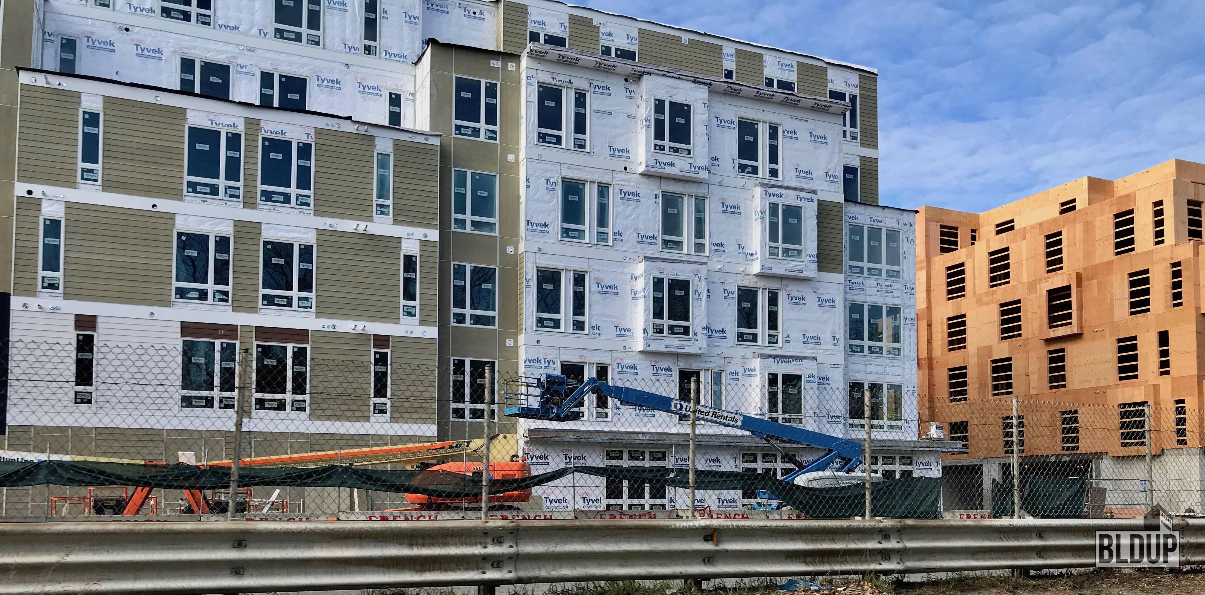 Residences at Alewife Station Cambridge April 1