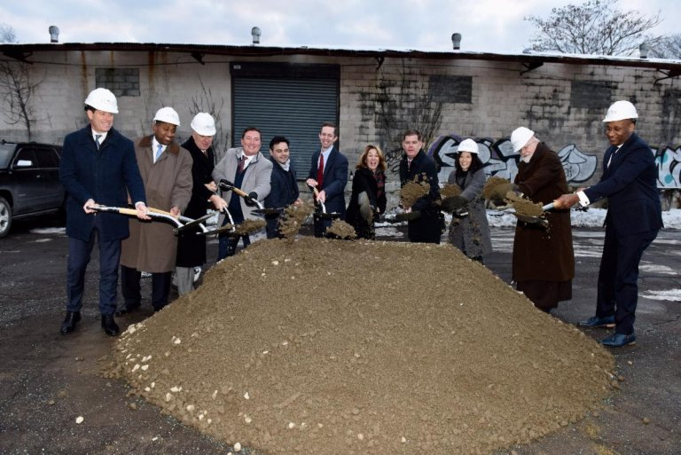 cote village ground breaking