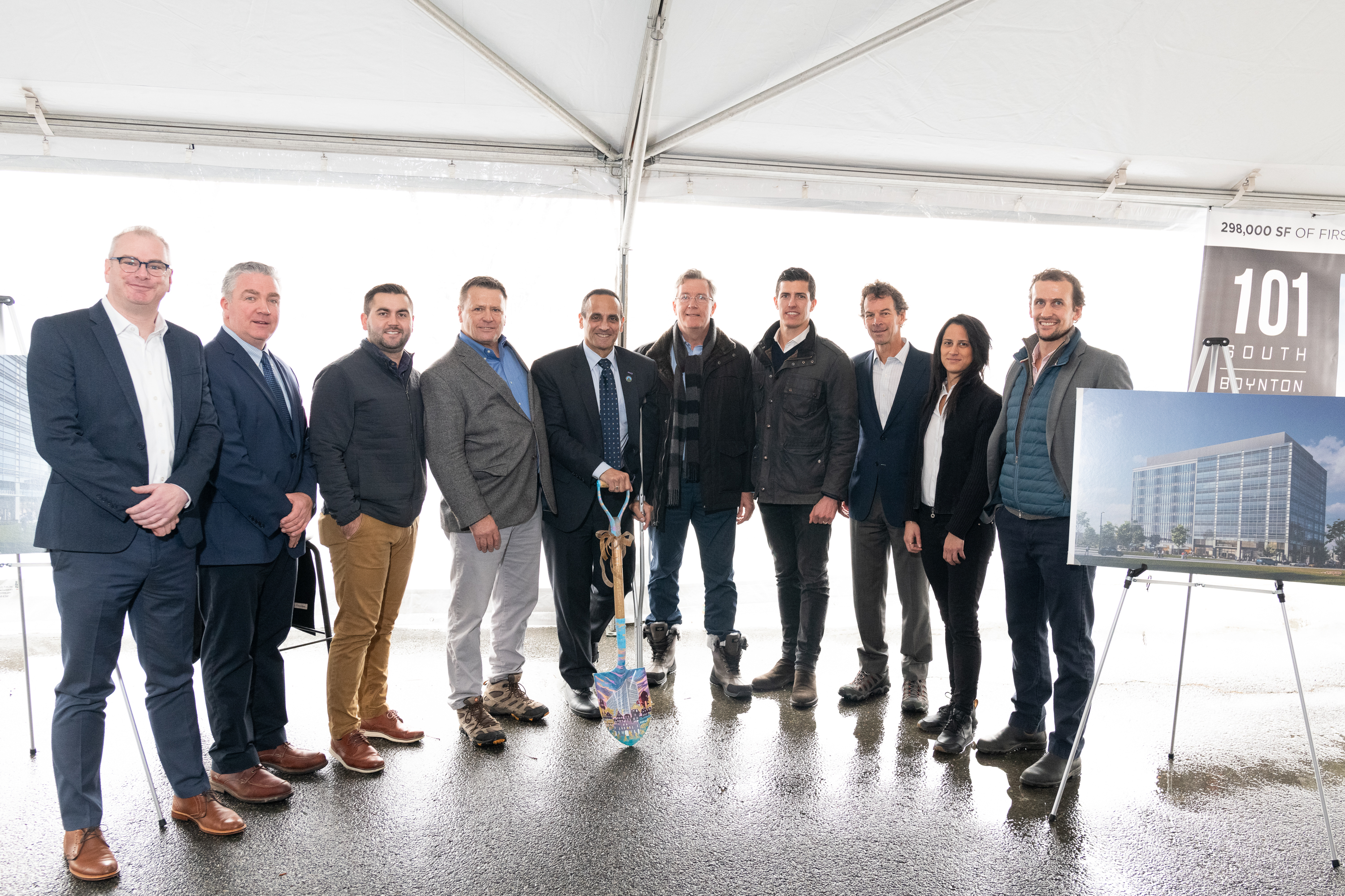 101 south ground breaking