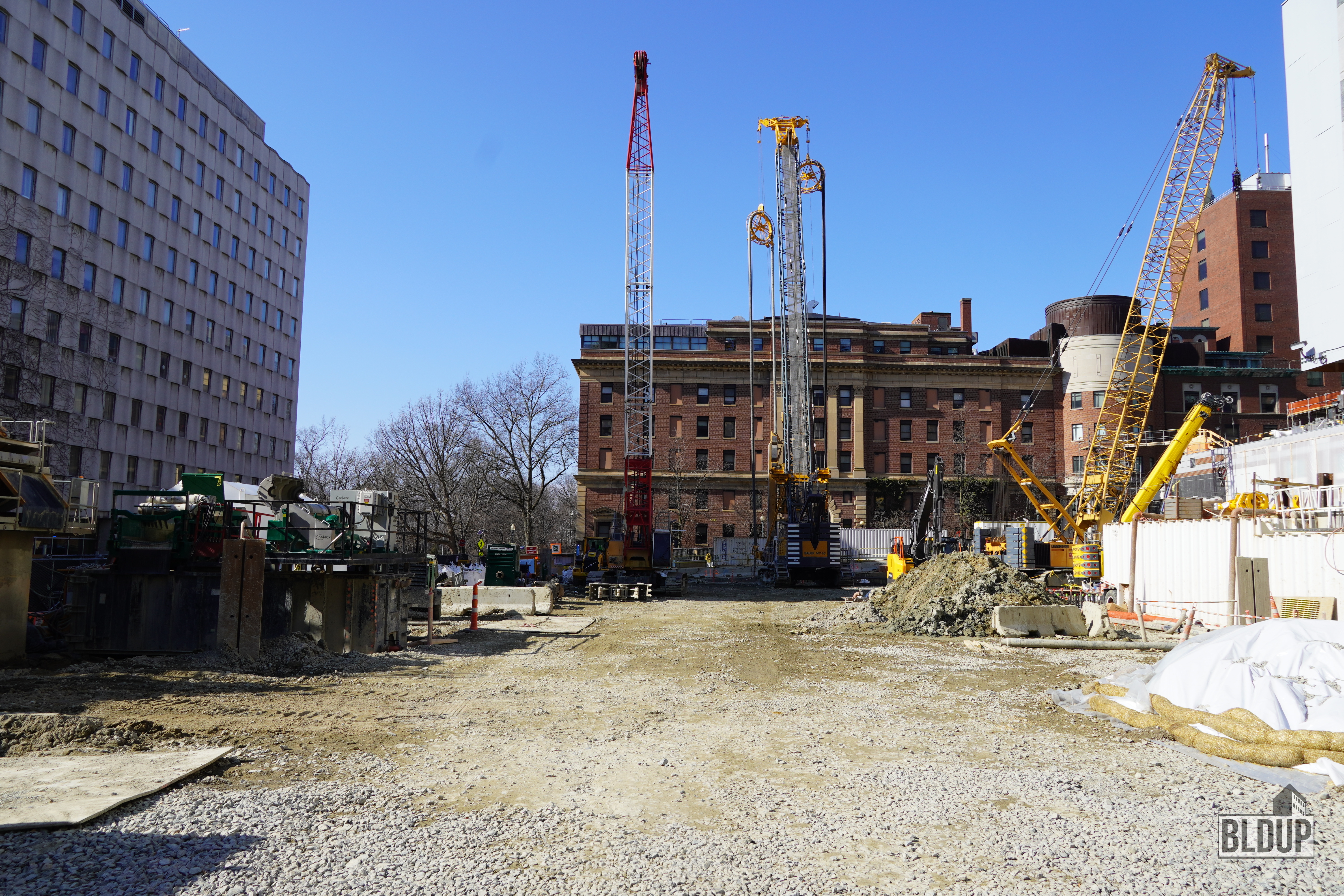 Bldup Site Work Ongoing For Bidmc New Inpatient Building