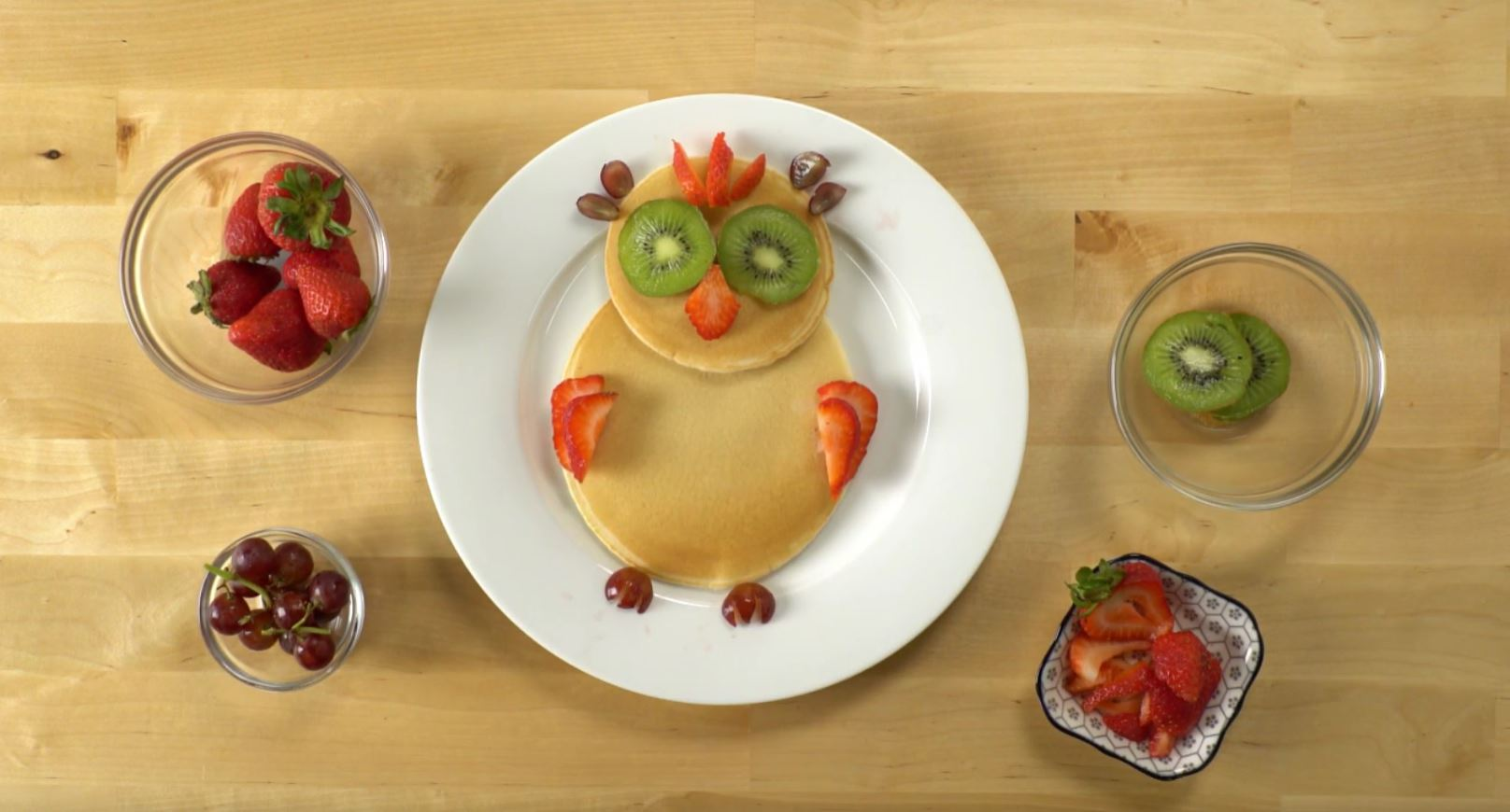 How to make pancake art owl whiskware how to make pancake art owl ccuart Gallery