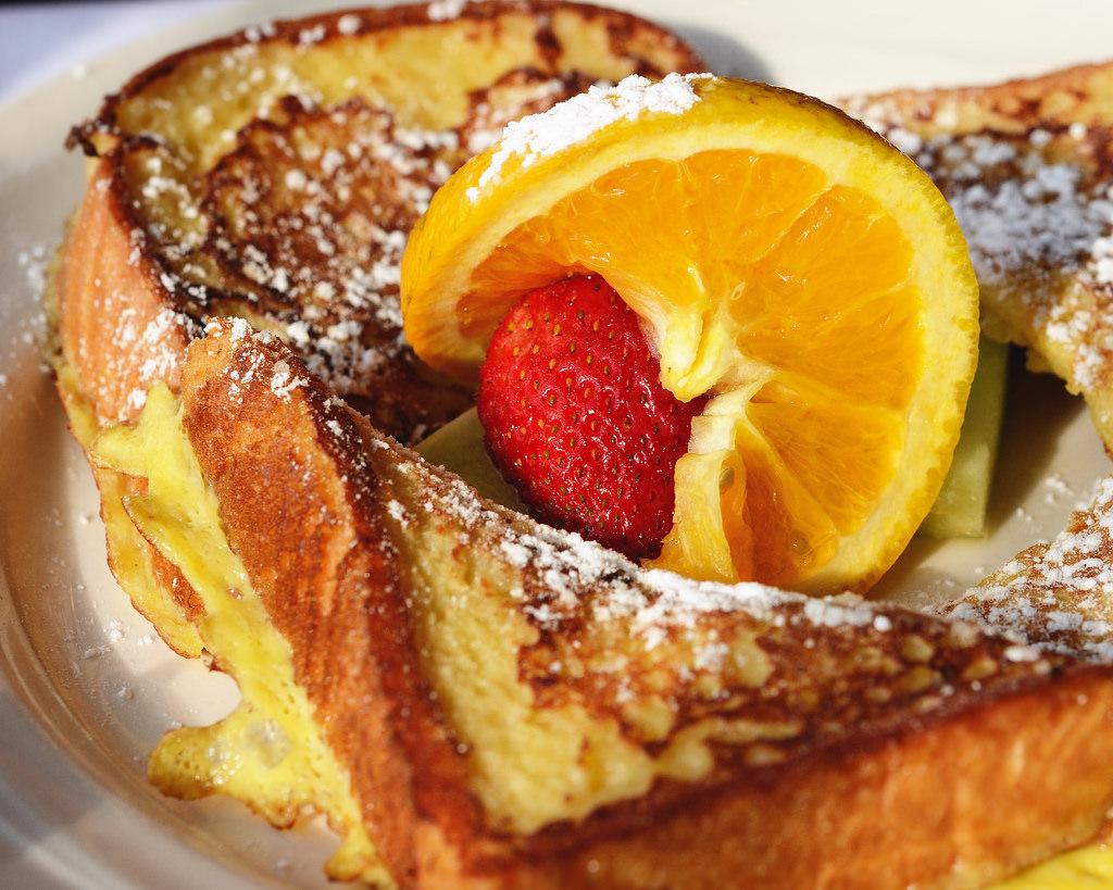 Orange Pecan French Toast - Whiskware