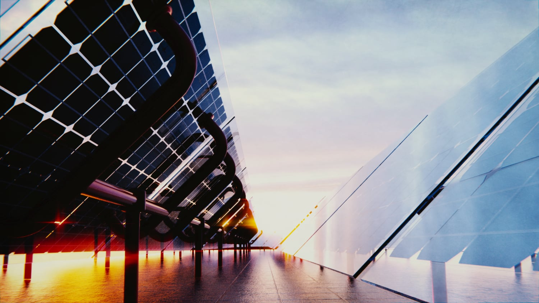 Blender Solar Panels