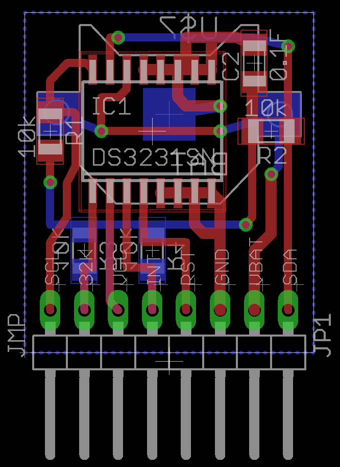Fully Independent DS3231 RTC Breakout Board | xyzio