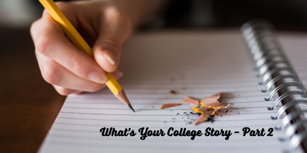 Discover your own story part 2