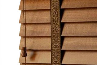 """2"""" Deluxe Wood Blinds"""