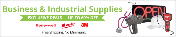 Exclusive deals up to 60% off  business & industrial supplies